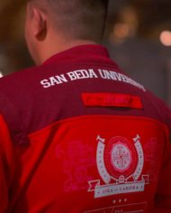 San Beda University Bomber Varsity Jacket