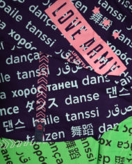 Dance Script Shirt by Love Army