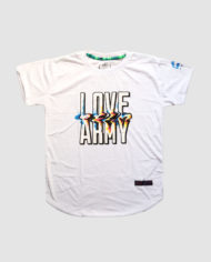 Type 3 LOVE ARMY Acid Lettering (White)