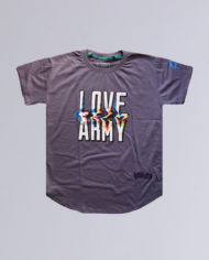 Type 3 LOVE ARMY Acid Lettering (Gray)