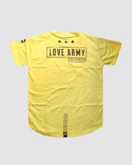 Type 3 LOVE ARMY Acid Lettering (Banana)