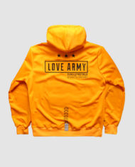 Embroidered Insignia Pullover Hoodie (Yolk)