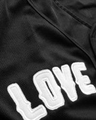 Lightweight Baseball Jersey by Love Army (Black)